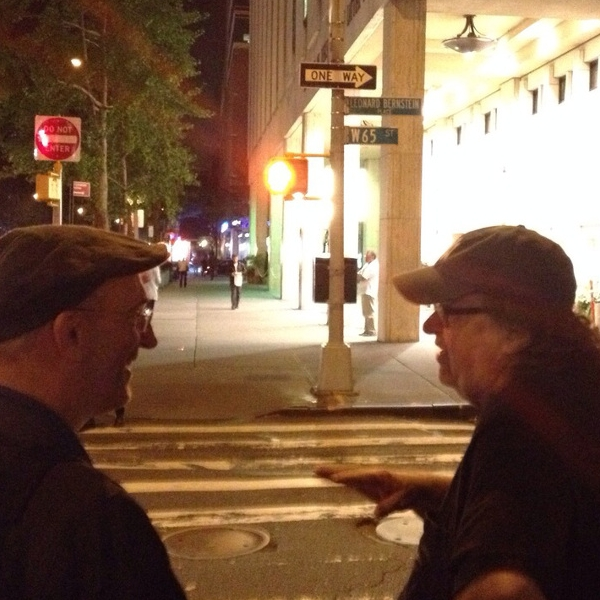 Michael Moore at Lincoln Center